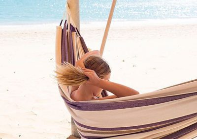 Hammock on beach_wholesome life retreats